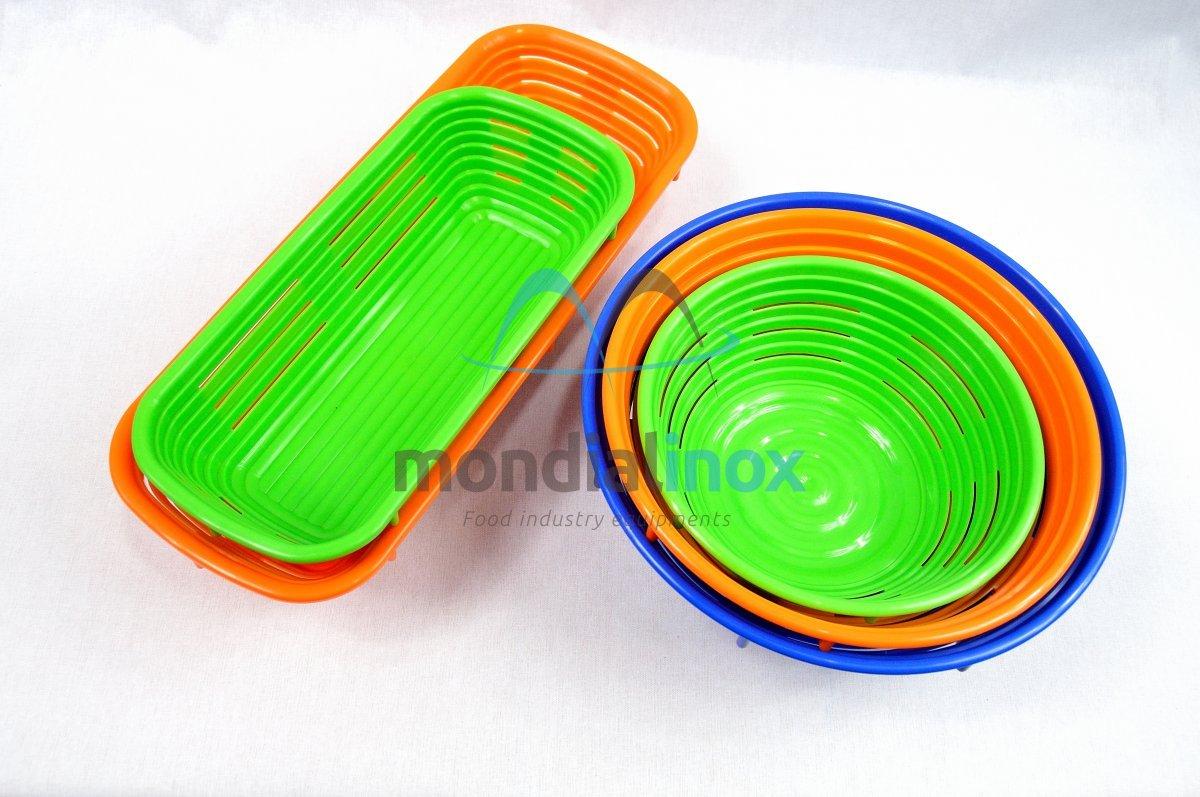 Plastic Banneton Bread Moulds Mondial Inox