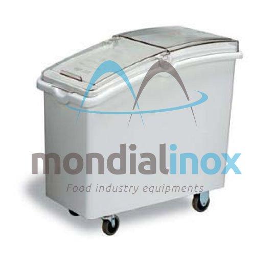 bac ingr dients sur roulettes chariots de transport mondial inox. Black Bedroom Furniture Sets. Home Design Ideas