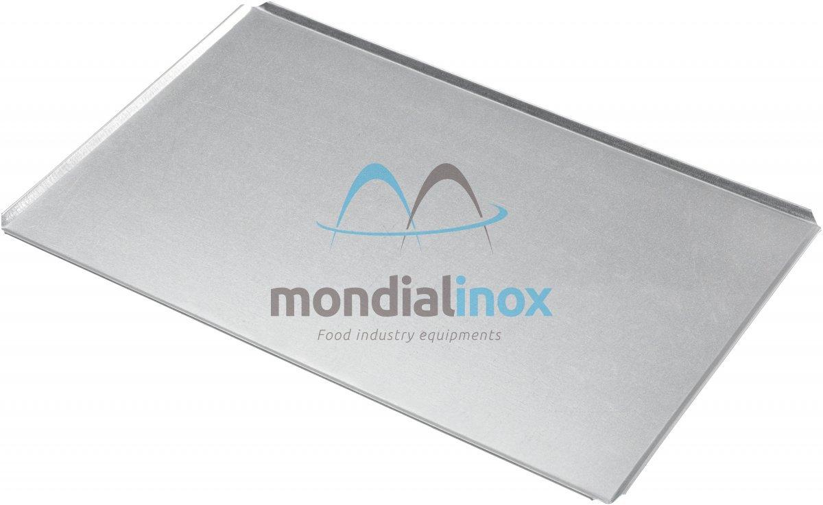 Plaque de cuisson alusteel pleine 4x45 0 75mm plaques for Plaque de cuisson en inox