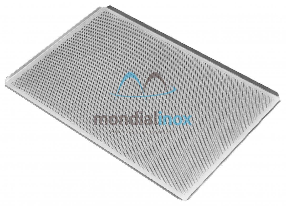 plaque de cuisson aluminium microperfor e 2mm 4x45 20 10 microperforation 2mm mondial inox. Black Bedroom Furniture Sets. Home Design Ideas