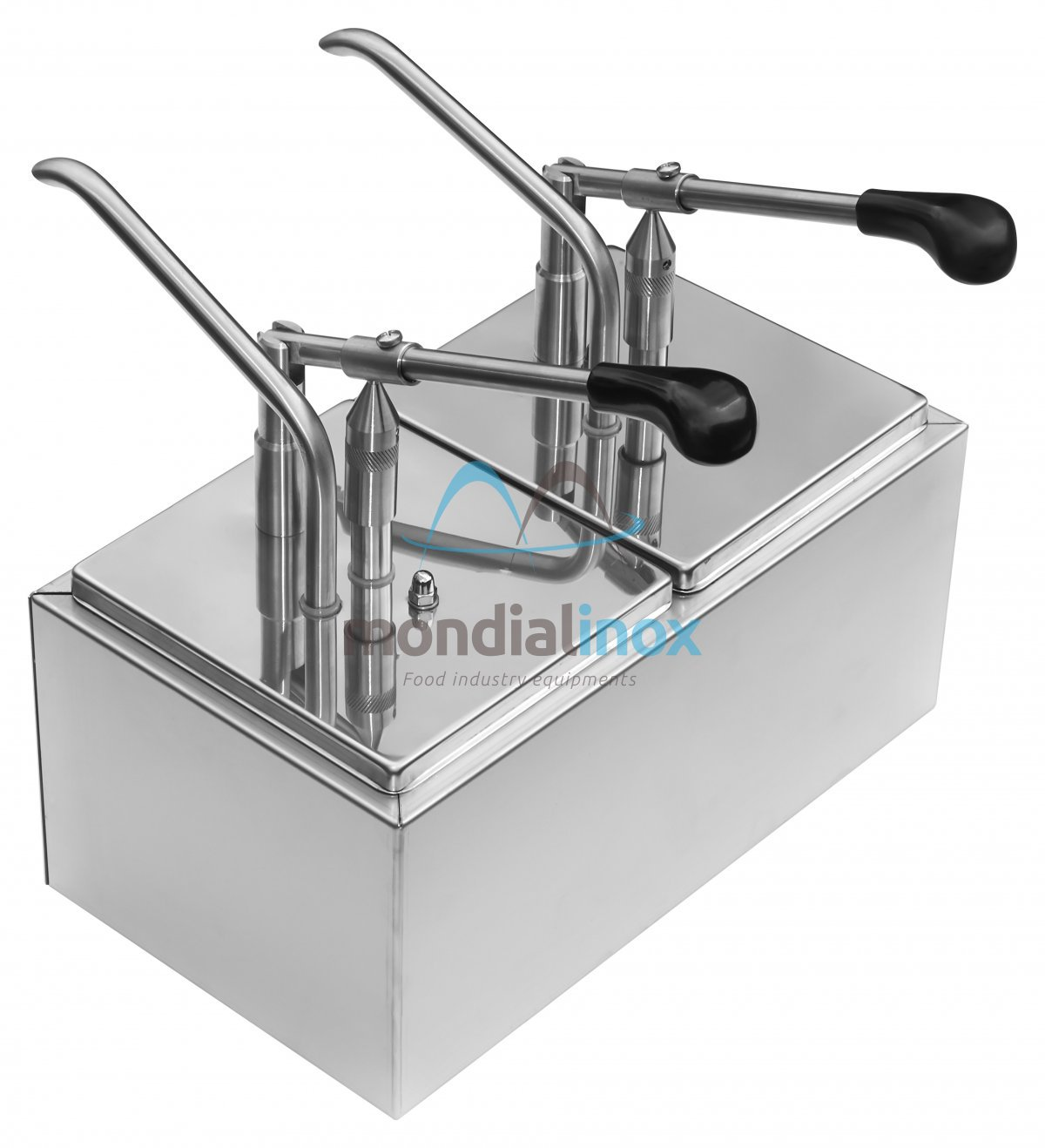Stainless Steel Condiment Dispensers Gastro Tray