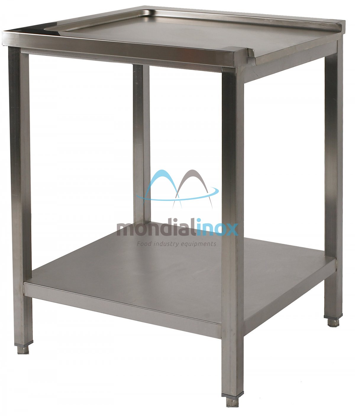 Stainless Steel Exit Table For Dishwasher Sink Mondial Inox - Stainless steel dishwasher table