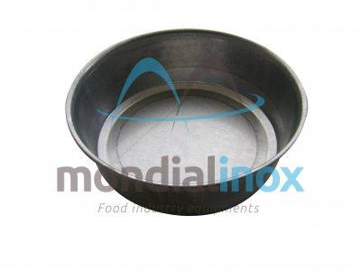 Round aluminium loaf pan