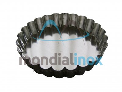 Round fluted manque mould
