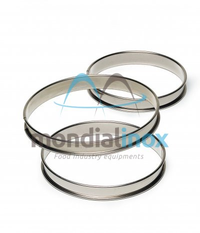 Stainless steel circle pie