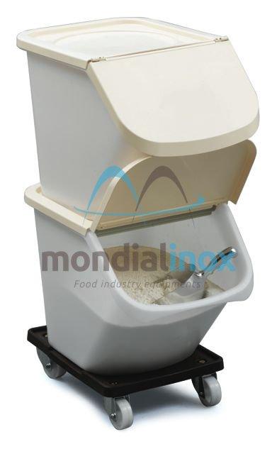 Ingredients bin met deksel speciale freeze