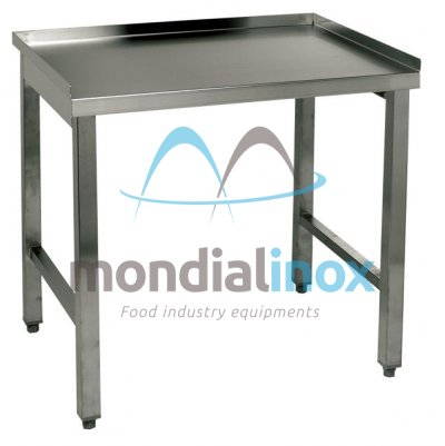 Table sur mesure en inox table mondial inox for Meuble inox sur mesure
