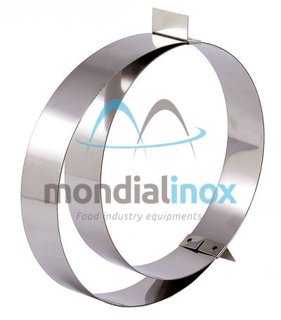 Extensible stainless steel circle