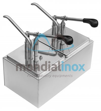 Stainless Steel Condiment Dispensers