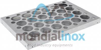 Aluminium Muffintrays, 24 muffins, hole 7 cm diameter