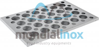 Aluminium Cupcake Trays, 24 cupcake, hole 6 cm diameter