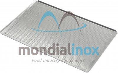 plaque de cuisson aluminium perfor e 4x45 15 10 perforation de 3mm mondial inox. Black Bedroom Furniture Sets. Home Design Ideas