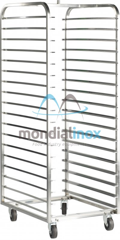 Stainless Steel, Baking Trolleys for Revent ovens, 14 shelves, 11,4 cm between shelves