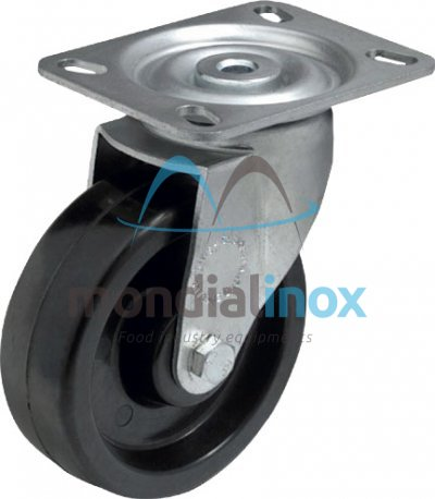 Heat resistant wheel Ø 80mm, /-20/+250° C 150kg