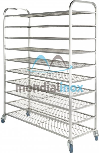 Stainless steel rack, for bread, Standard