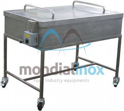 Tubs for cleaning trays and moulds, 170L