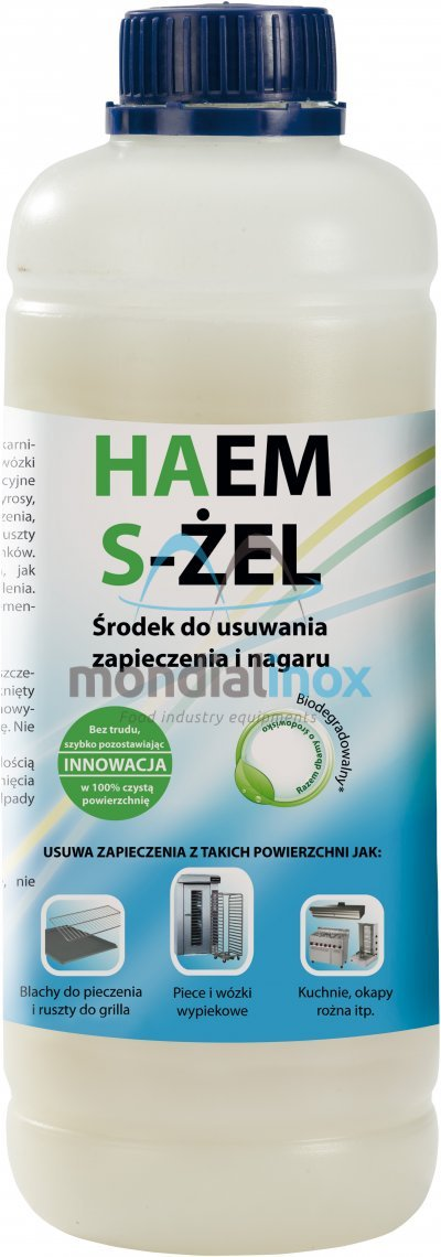 HAEM gel for cleaning baking trolleys, 1L