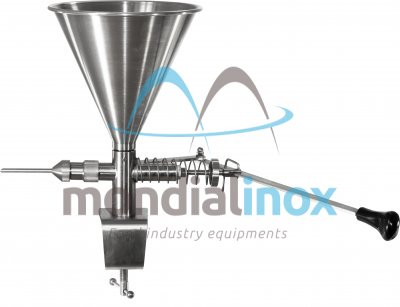 Doughnut filler, Manual, Side