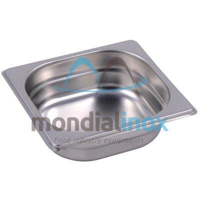 Stainless steel bin gastro GN 1/6