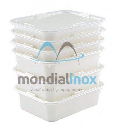 Ingredients bin with lid