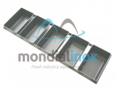 Set of rectangular loaf pans alusteel