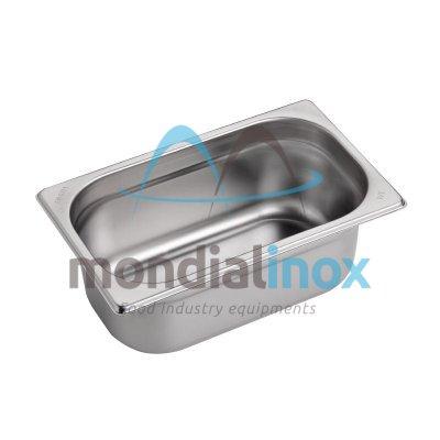 Stainless steel bin gastro GN 1/4