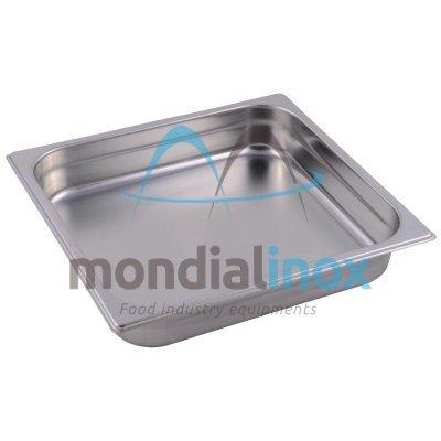 Stainless steel bin gastro GN 2/3
