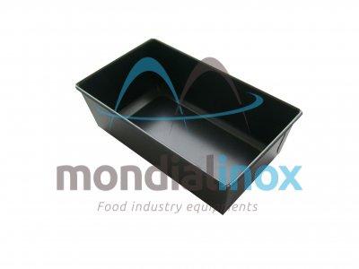 Rectangular loaf pan ine blue stainsteel