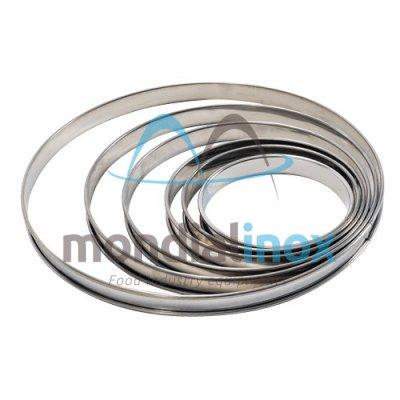 Tinplate circle H2.1cm