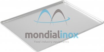 Aluminium pressed display tray - silver etched