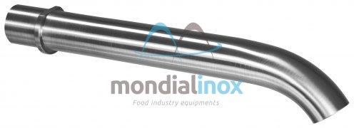 Inox spuitmond voor vulmachine