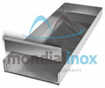 Aluminium Closed Baking Trays, Plug type F, Plug length 10 cm