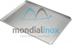 Plaque de cuisson aluminium perforée 3x90° + 1x45° 20/10