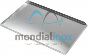 Aluminium bakplaten, 3x90° 20/10