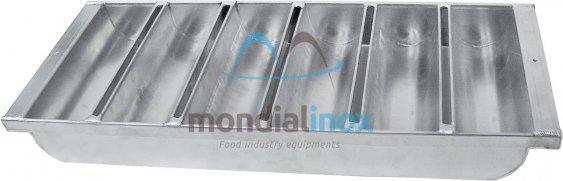 Aluminium buchvormen 6x 25x7,5x6,6