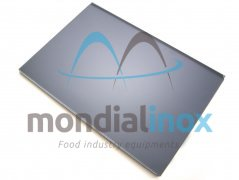 Black plate for plate machine