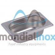 Stainless steel bin gastro GN 1/9