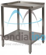 Stainless steel exit table for dishwasher