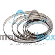 Cercle en fer blanc H2,1cm