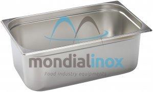 Stainless steel bin gastro GN 1/3