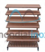 Wooden shelf for shop